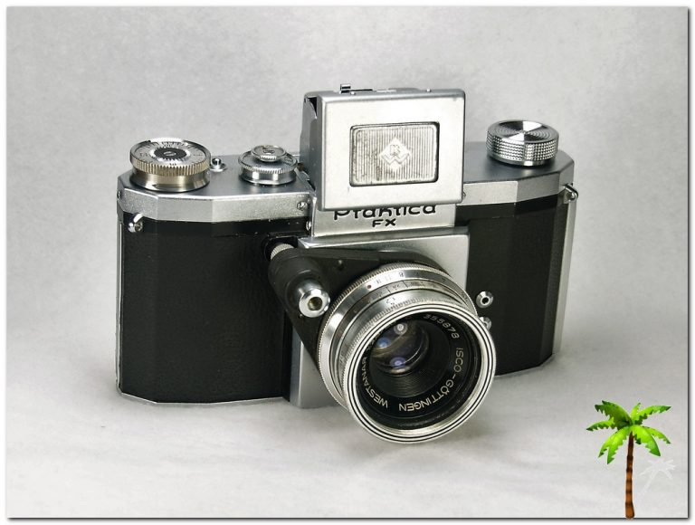 Praktica FX open viewer