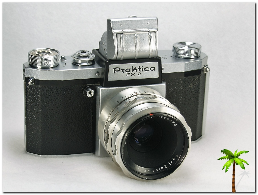 Praktica FX2 open viewer