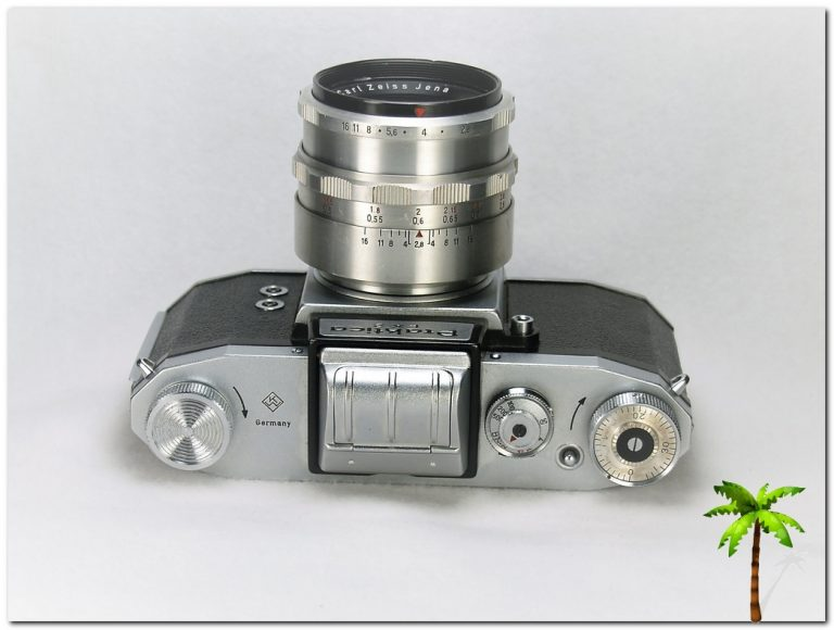 Praktica FX top view